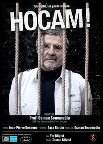 """Affiche de """"Prof"""" á Istanbul"""