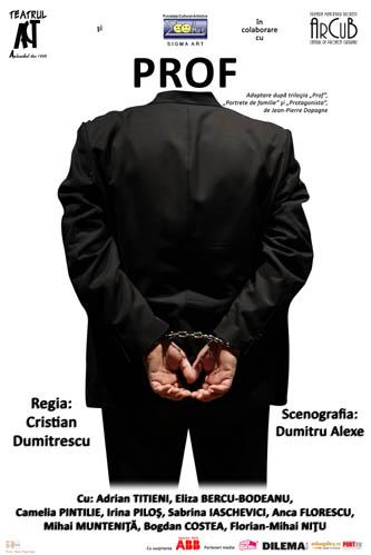 "Affiche ""Prof"" en Roumanie"